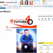 CBC Future 40 Saskatoon Saskatchewan - Dj Anchor Armed With Harmony