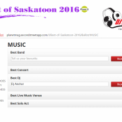 Nominate or Vote DJ Anchor Saskatoon as Best DJ or Armed With Harmony as Best Saskatoon DJ 2016 Planet S Magazine Best Of Edition