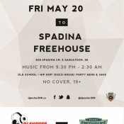 Spadina Freehouse Saskatoon Dj Anchor of Armed With Harmony