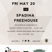 Spadina Freehouse Saskatoon Dj Anchor of Armed With Harmony