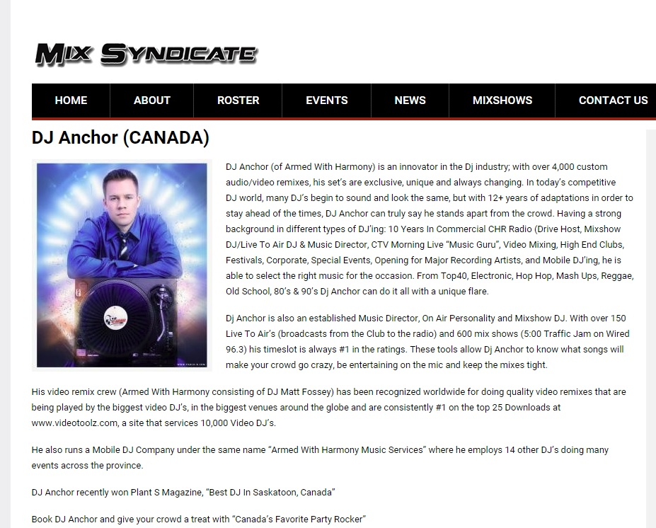 The Mix Syndicate Canada - Image 2