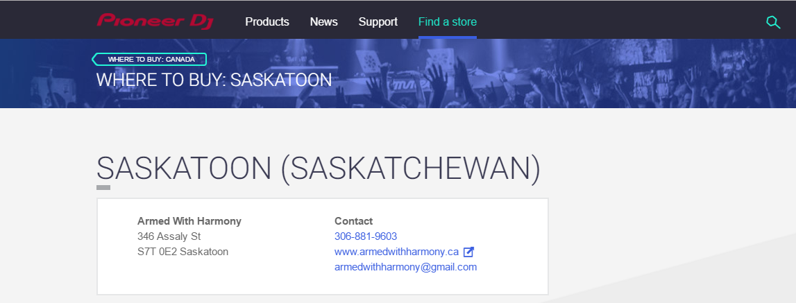 Buy Saskatoon DJ Equipment & Audio Gear - Online Store - Image 1