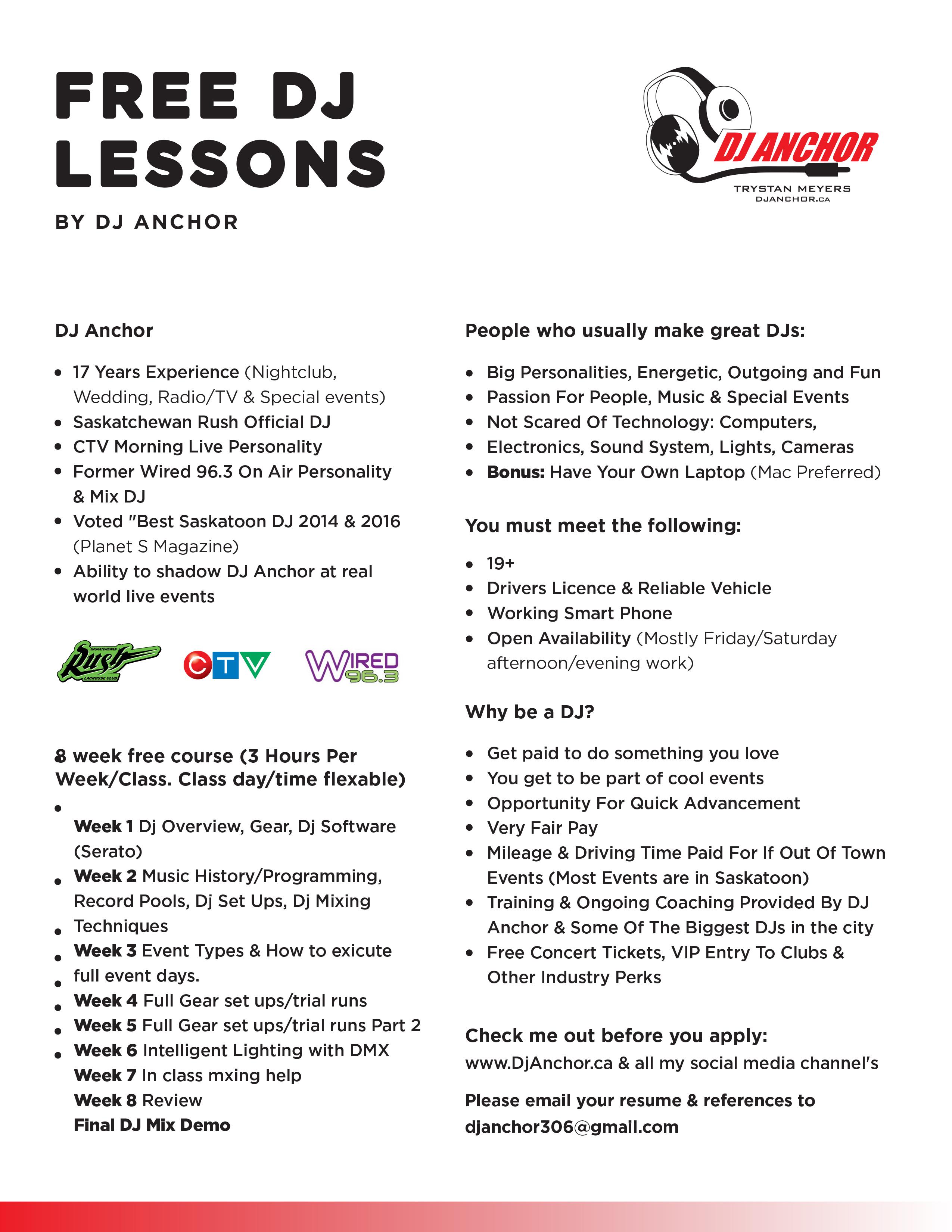 Free Dj Lessons