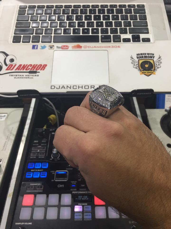 Official Saskatchewan Rush DJ Anchor Saskatoon