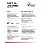 FREE DJ Lessons from Dj Anchor Want to be a DJ but don't know where to start?  Dj Anchor is offering YOU FREE Dj Lessons and DJ Secrets! 8 Week Free Course Please E-mail Resume & References To djanchor306@gmail.com