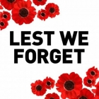 Take some time today and be thankful. Remembrance Day. Lest we forget. #remembranceDay #lestweforget #remember